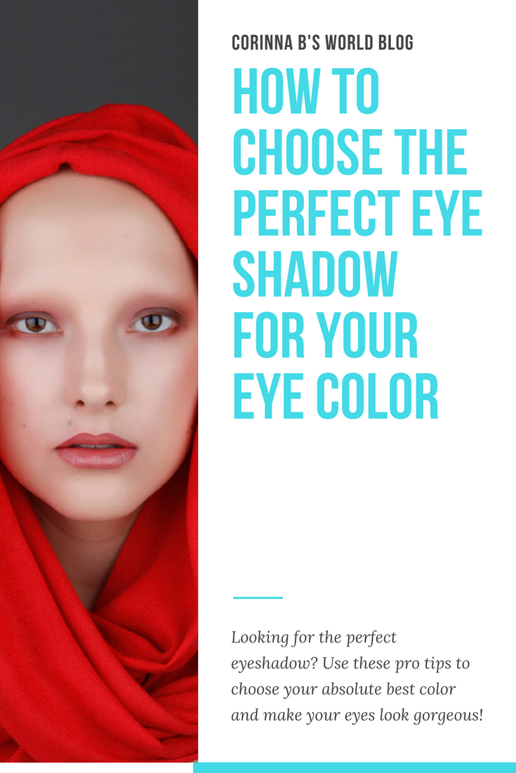 how to choose your perfect eye shadow color