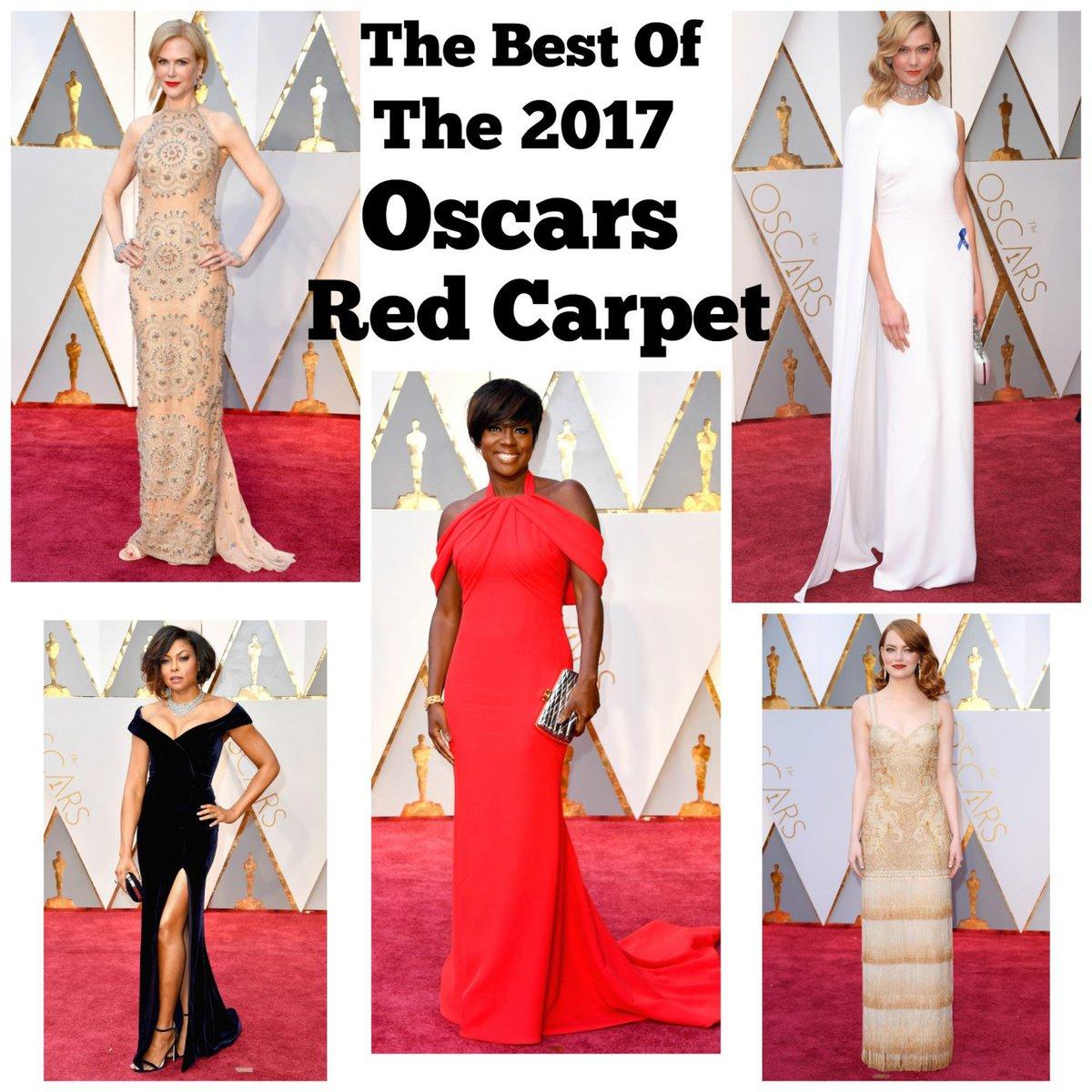 best of oscars 2017 red carpet
