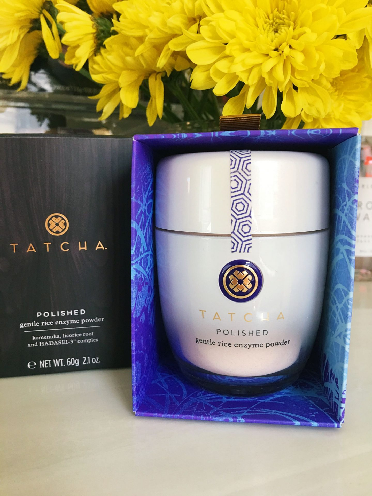 Tatcha gentle Rice Enzyme Powder
