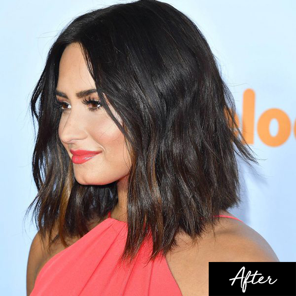demi lovato new hair style the new fabulous haircut corinna b s world 7290