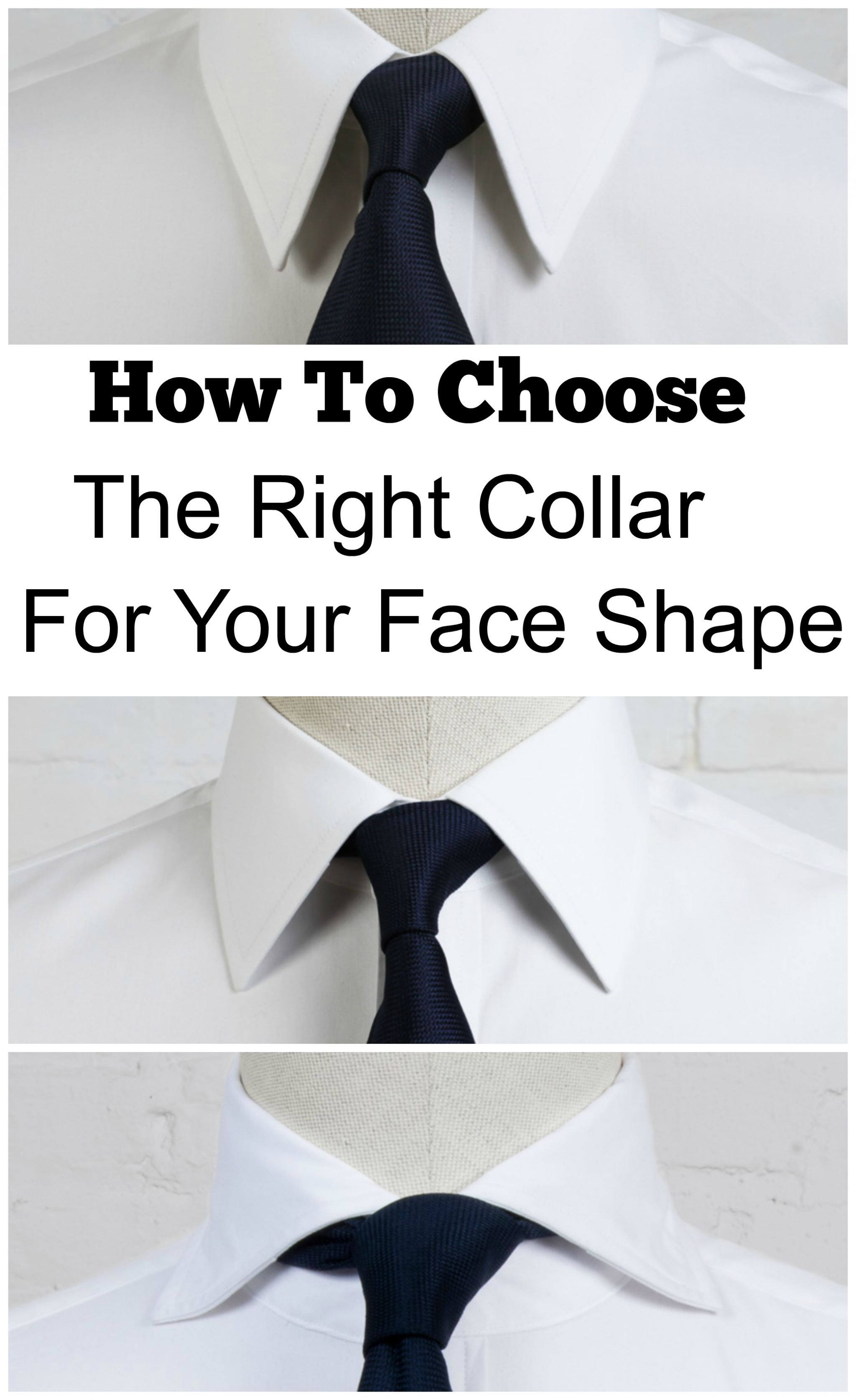 How To Choose The Right Shirt Collar For Your Guy's Face ...