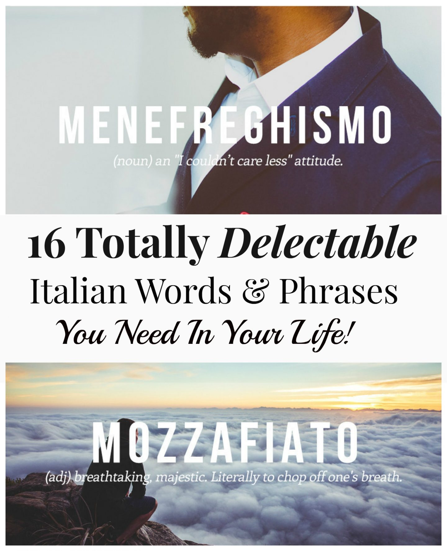 Luscious Italian Words and Phrases