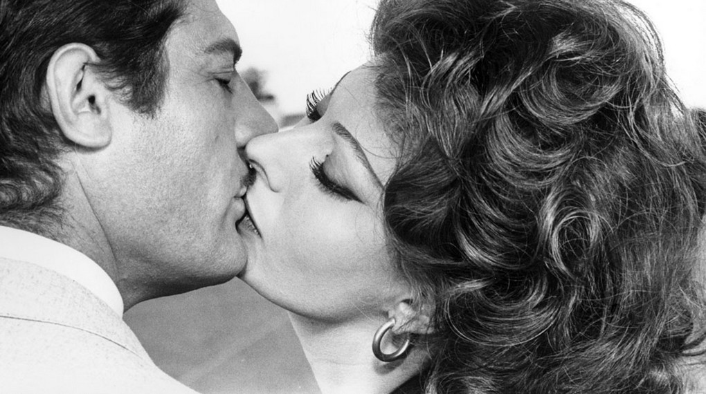 Marcello Mastroanni and Sophia Loren