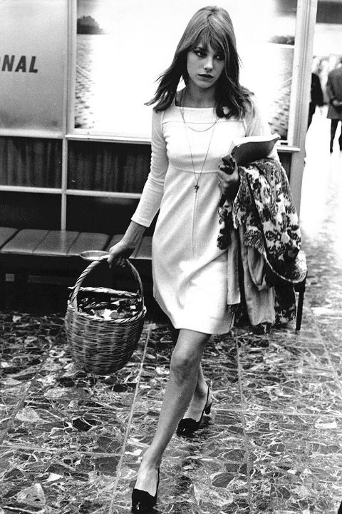 iconic jane birkin 1966