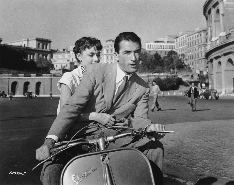 Gregory Peck Audrey Hepburn Roman Hioliday