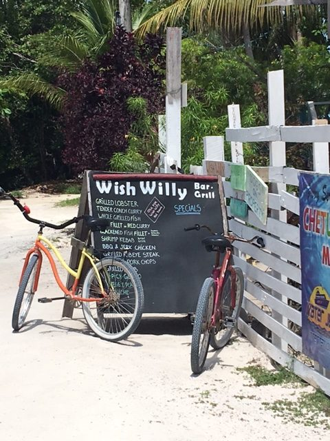 Wish Willy Caye Caulker