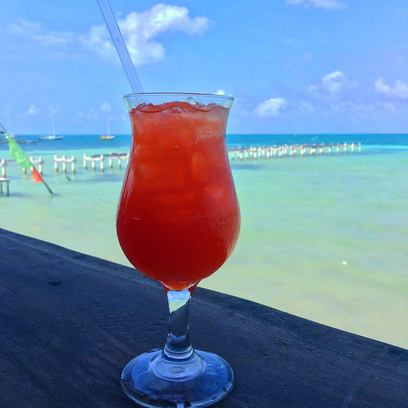 Rum Punch Caye Caulker