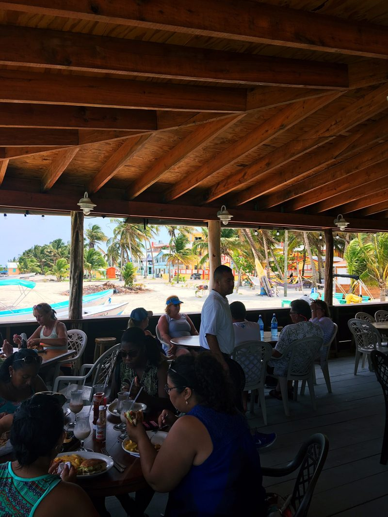 patio Rainbow Grill Caye Caulker
