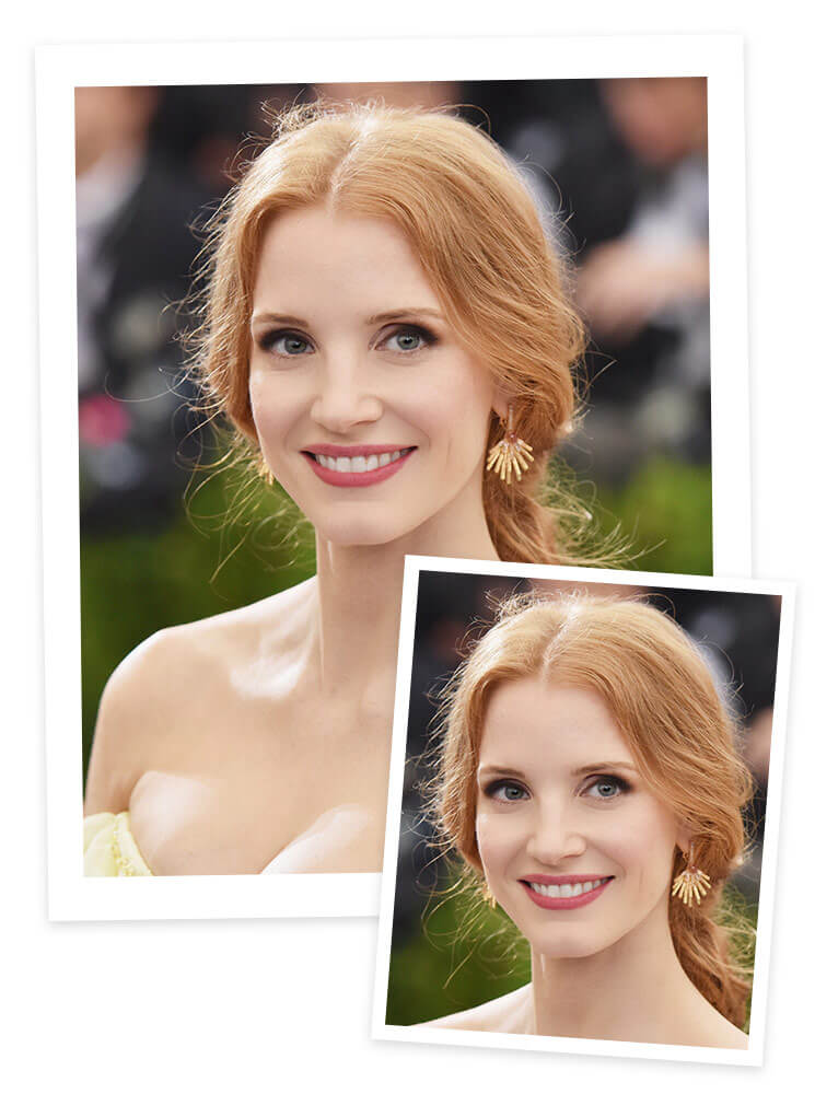 Jessica Chastain Met Gala Red Carpet
