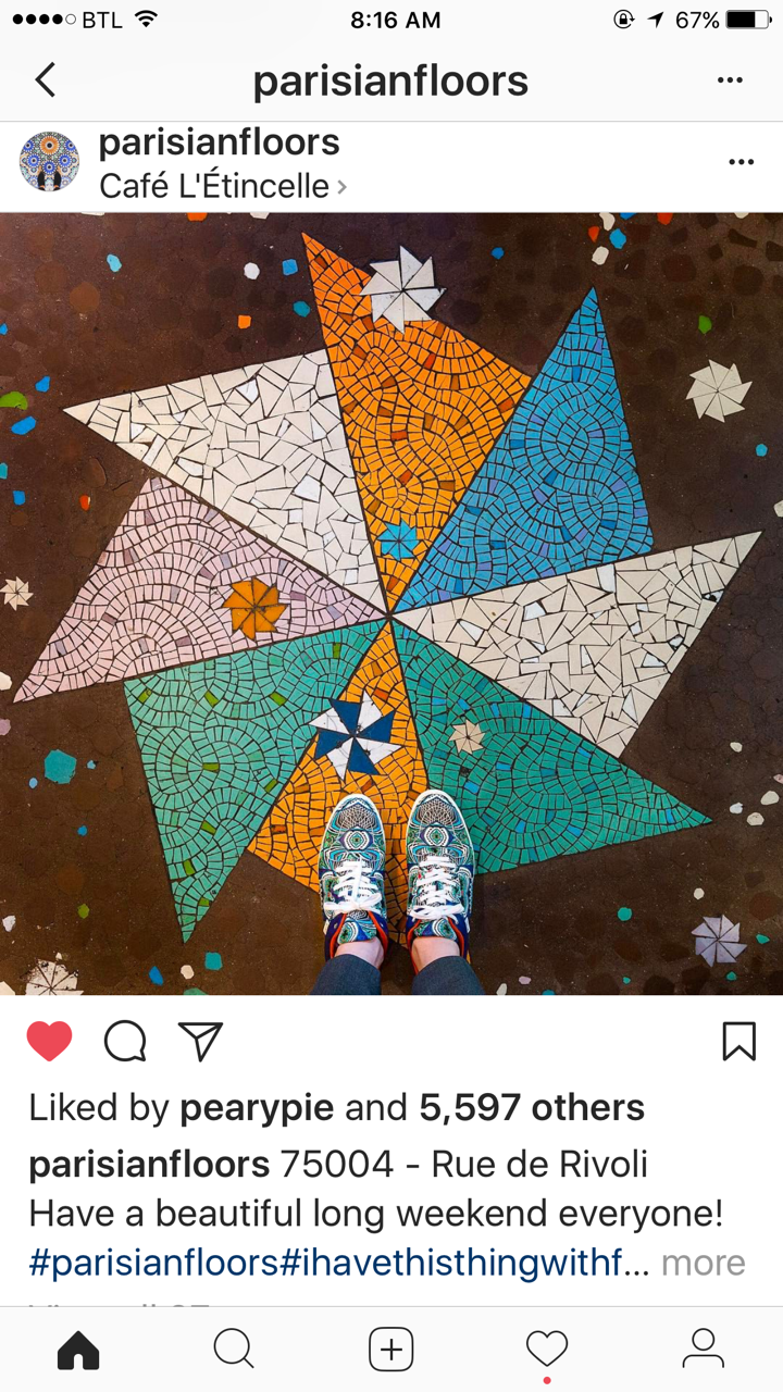 Parisian Floors, Sebastian Erras