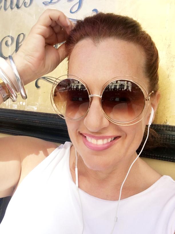 Chloe sunglasses Corinna B's World, paris