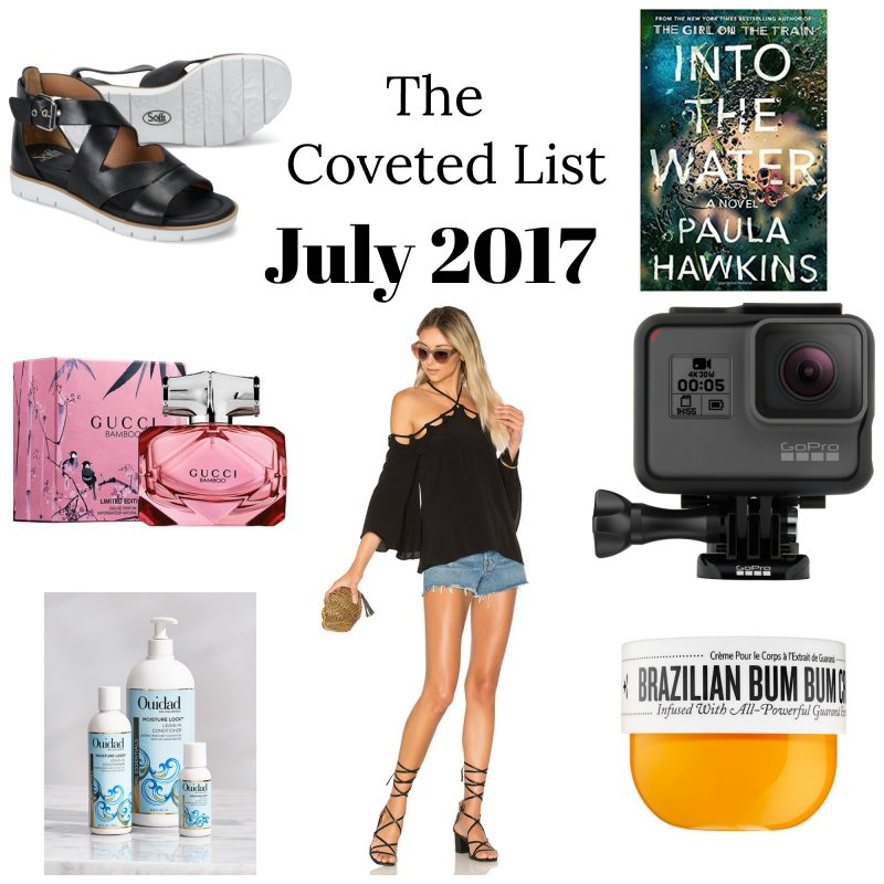 Corinna B's World Coveted List July 2017