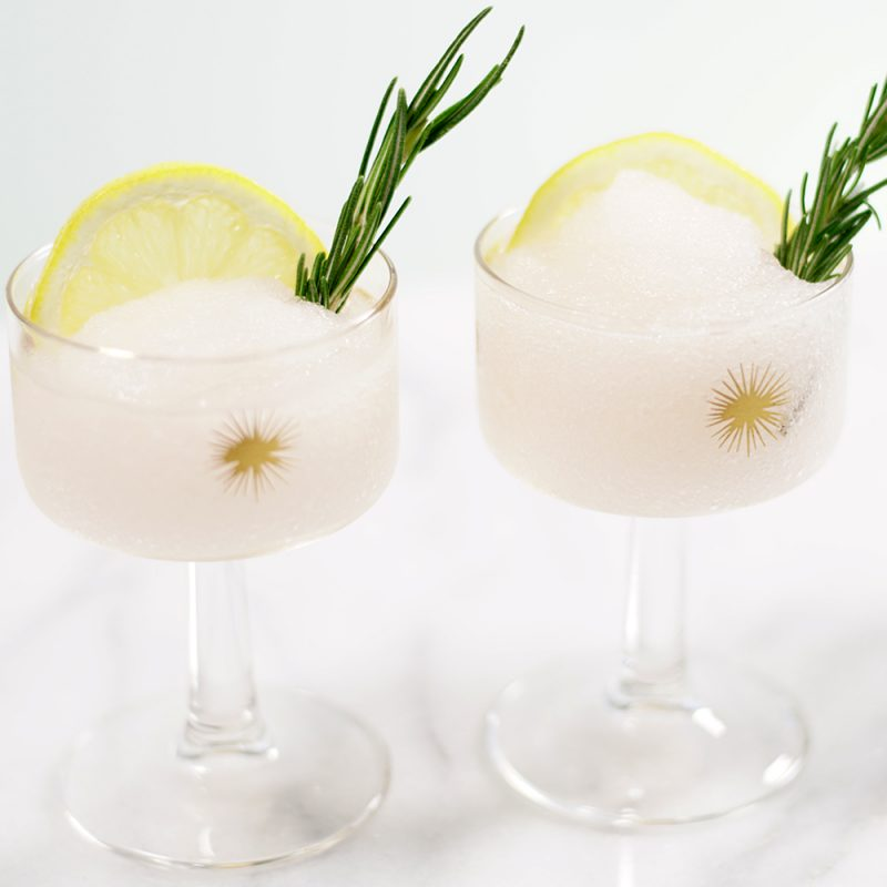 frozen rose cocktail