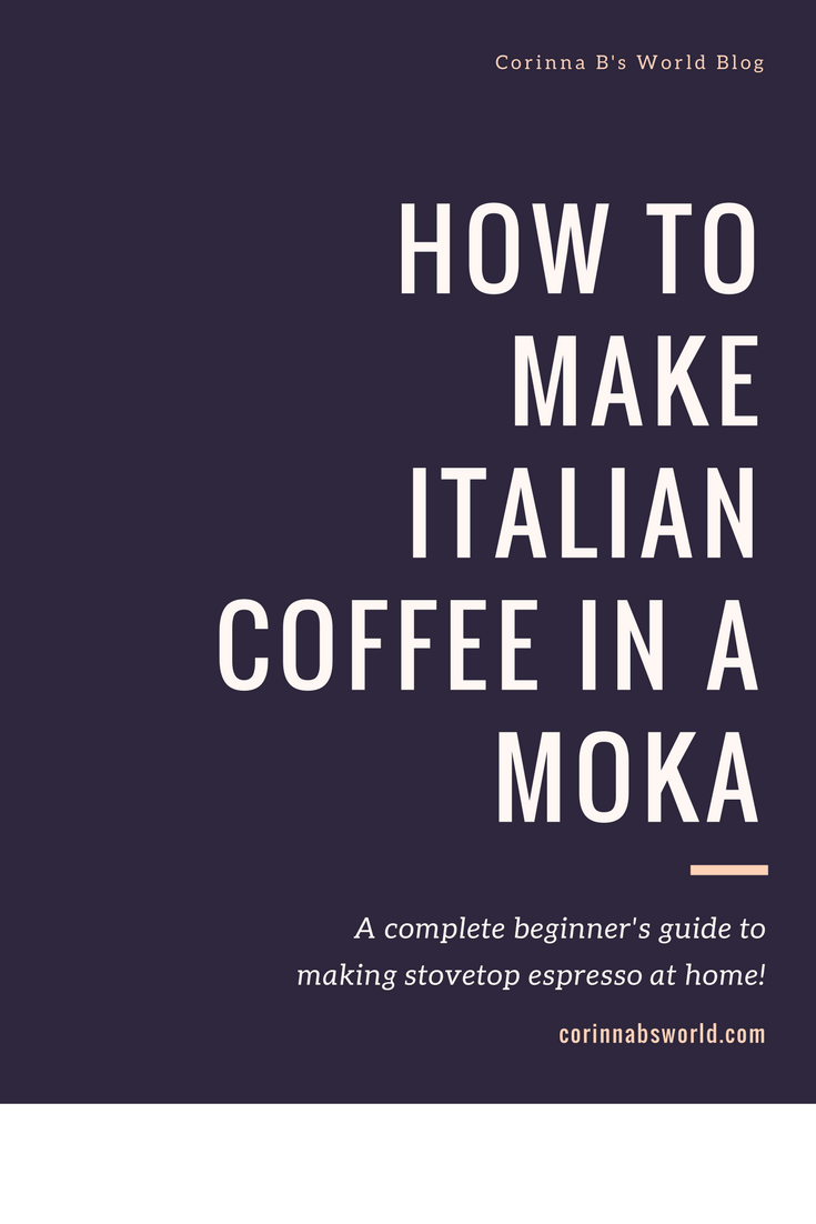 stovetop espresso how to use a moka