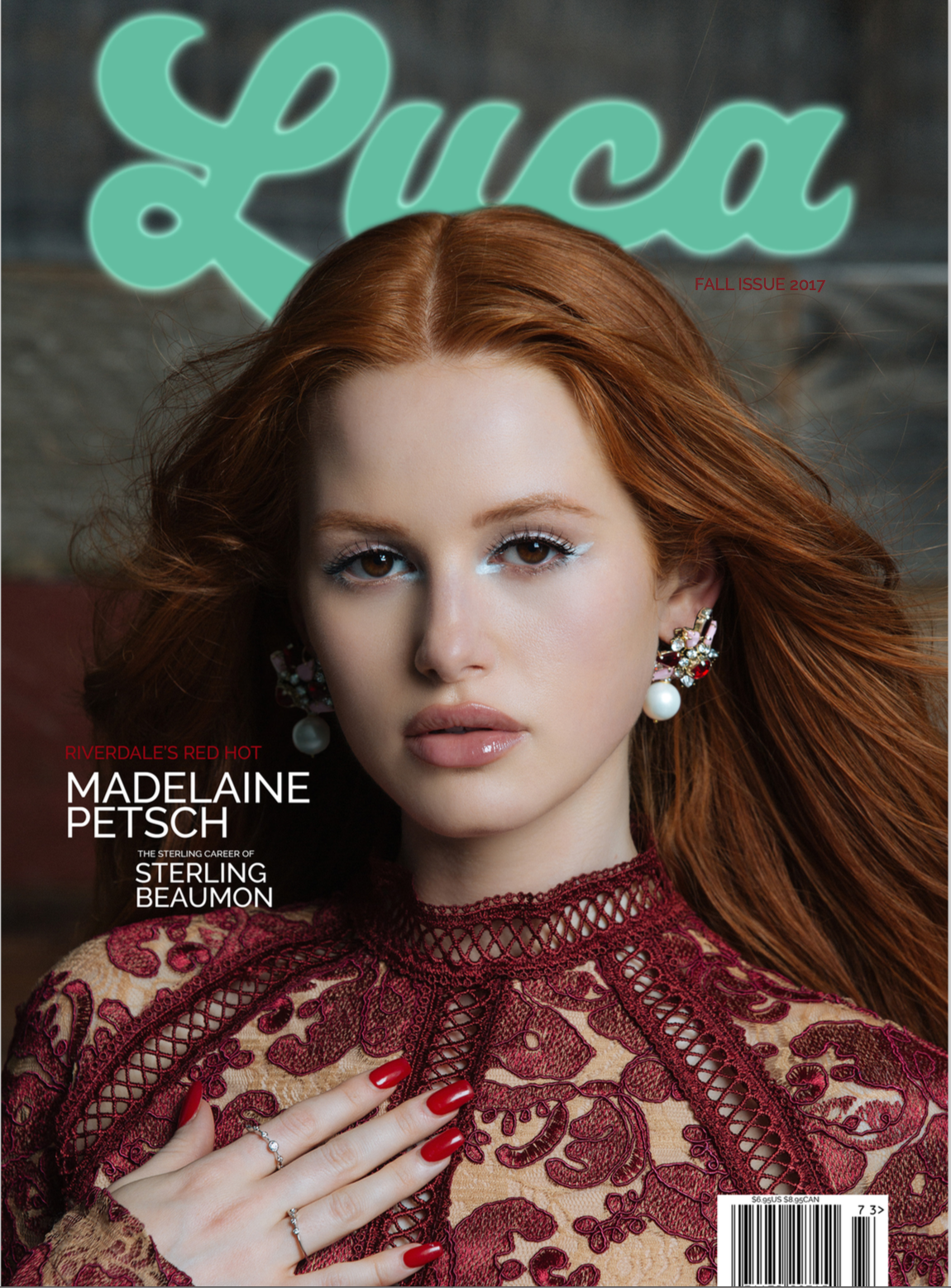 madelaine petsch luca magazine
