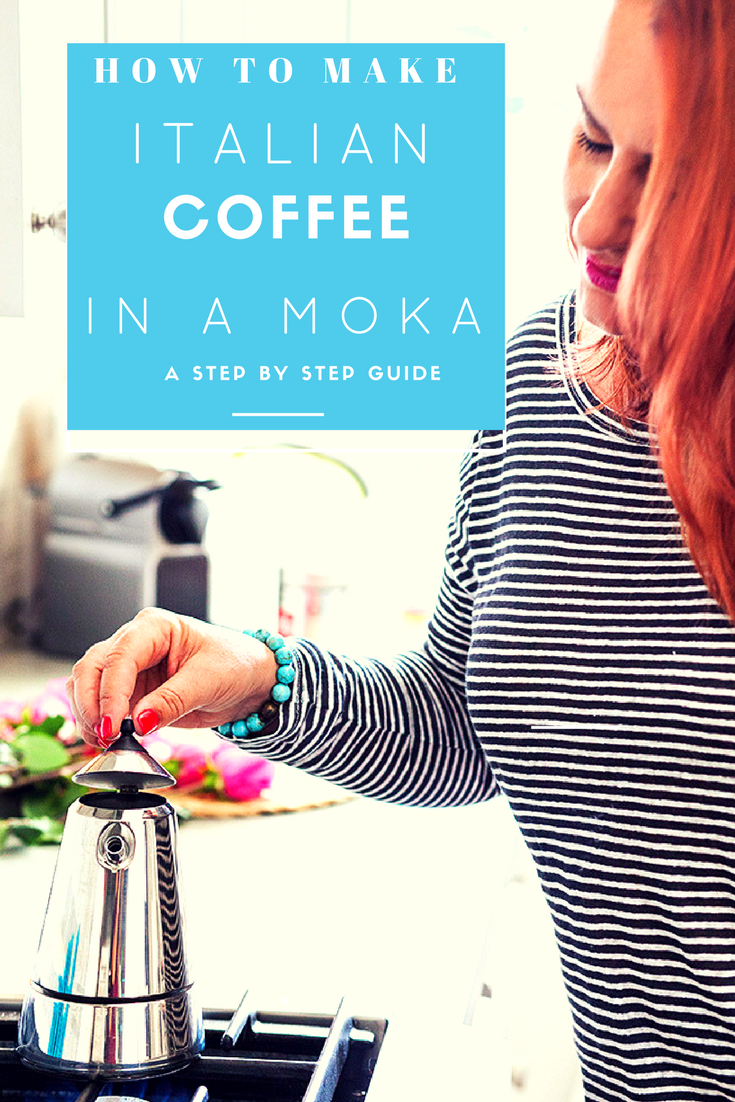 how to make coffee in a moka