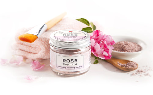 rose clay mask